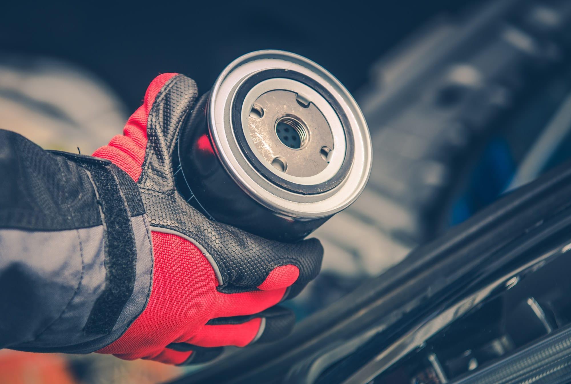 Vehicle Engine Oil Filter